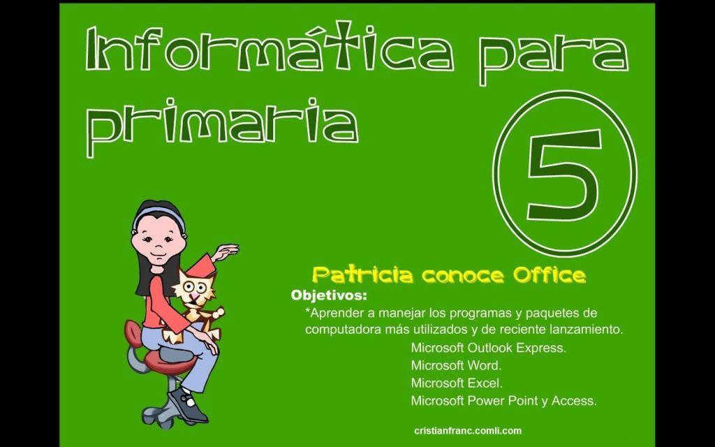 Informática para Primaria 5