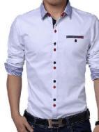 Patrones de camisa sport para caballero
