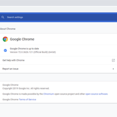 It's time to update your Google Chrome browser!