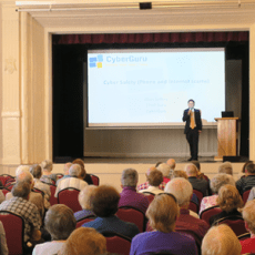 CyberGuru talks cyber safety at Seniors Safety Forum