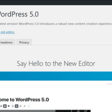 WordPress 5.0 has been released