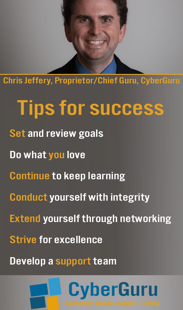 Infographic - Tips for success