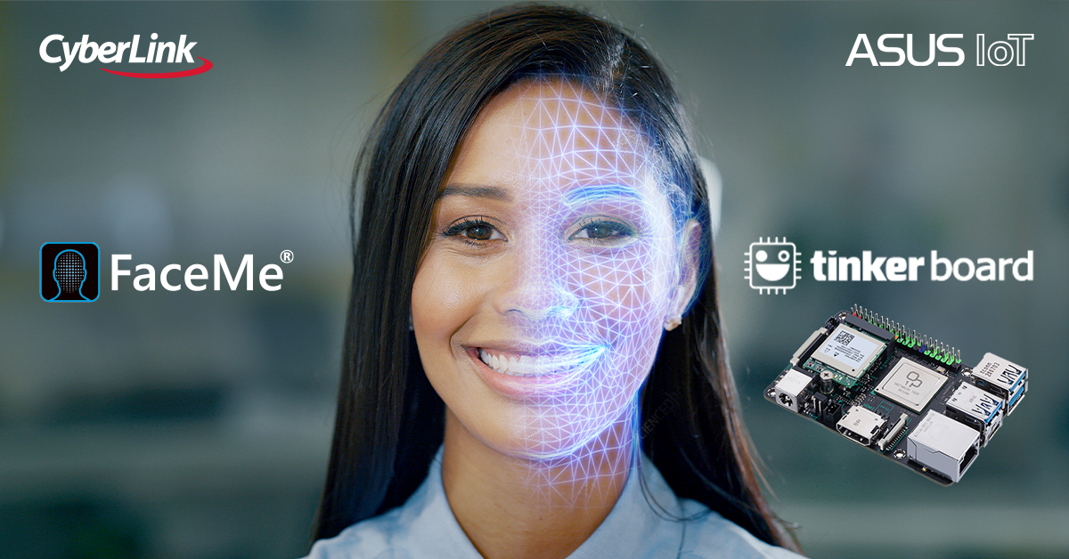 CyberLink's Facial Recognition Technology Partners with ASUS Edge Computing Single-board Computers to Create Smart IoT/AIoT Applications