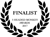 Finalist on the 3 Headed Monkey awards 2017