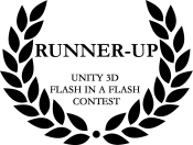 Runner-up on the Unity 3D Flash in a Flash contest