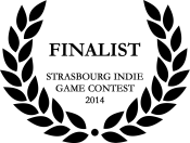 Finalist on the Strasbourg Indie game contest 2014