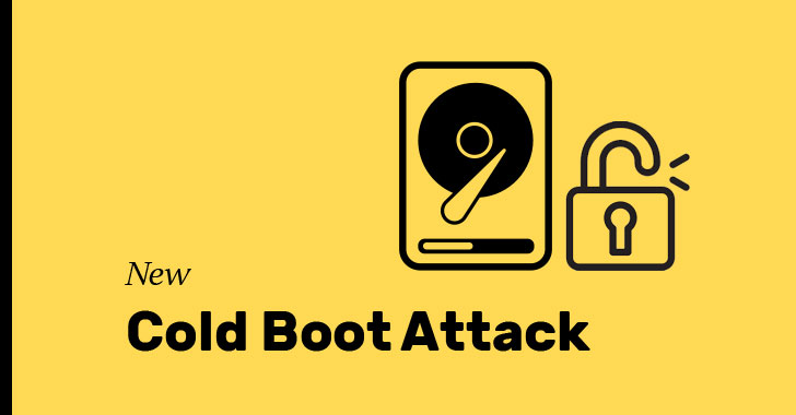 cold boot steal Encryption keys