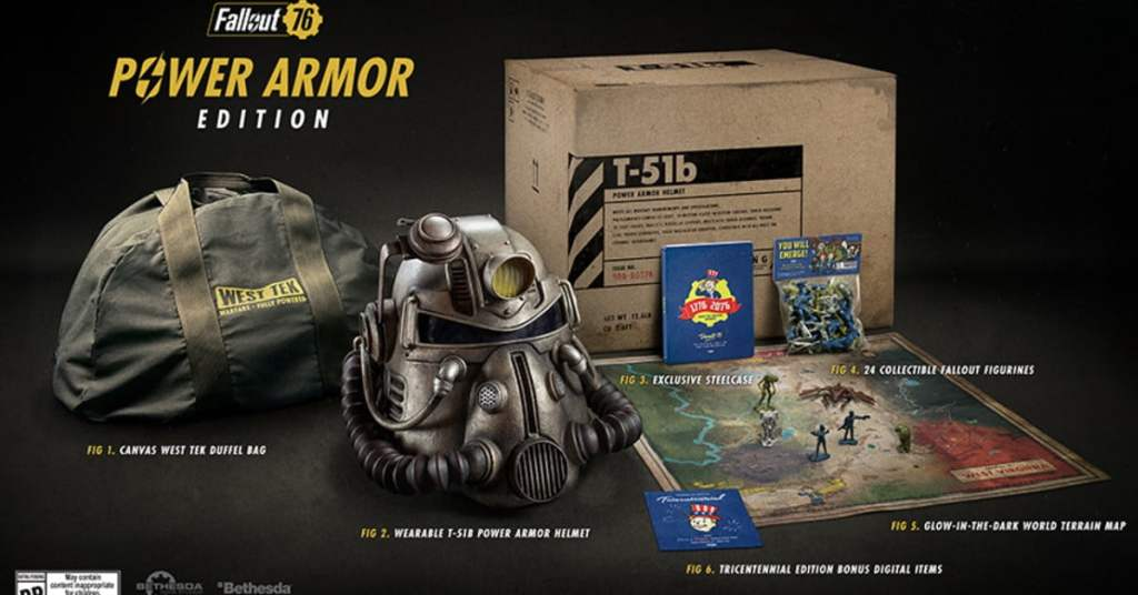 Fallout 76: Power Armor Edition's Canvas Bag Controversy Continues