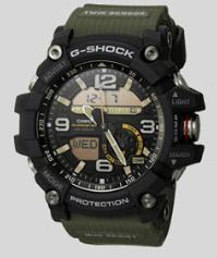 5. CASIO GG-1000-1A3CR MUDMASTER G-SHOCK