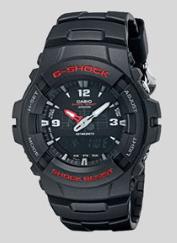 9. CASIO G-SHOCK G100-1BV