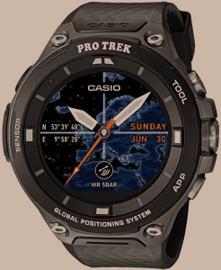 Casio Mens PRO TREK Quartz Resin Outdoor Smartwatch, ColorBlack (Model WSD-F20-BKAAU)