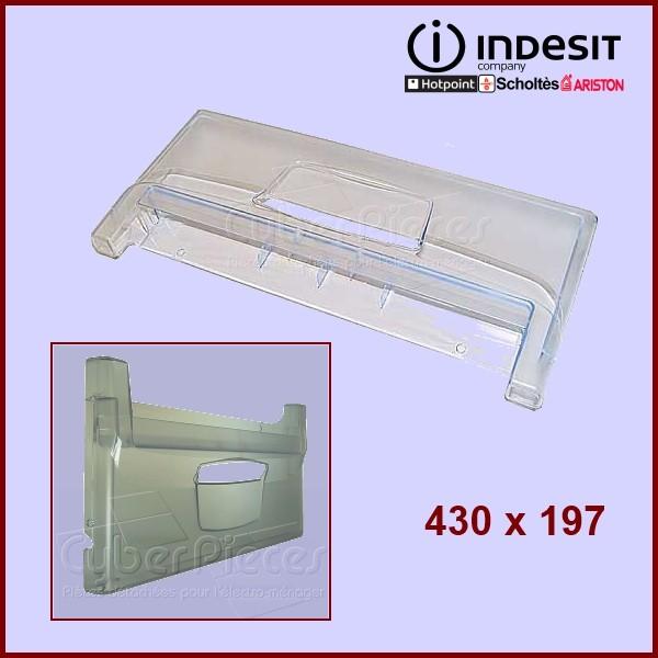 facade de tiroir indesit c00283745 pieces refrigerateur congela