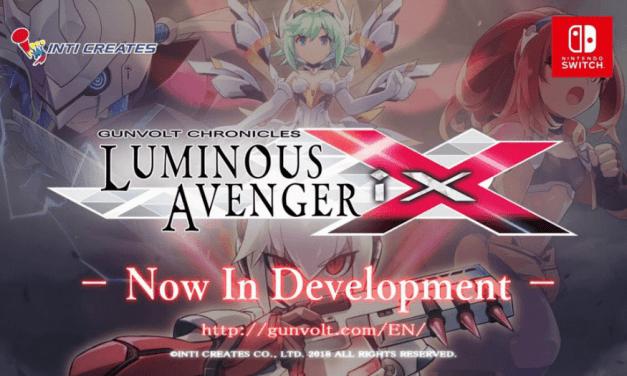 Inti Creates Announces Luminous Avenger Ix, a Gunvolt Spinoff