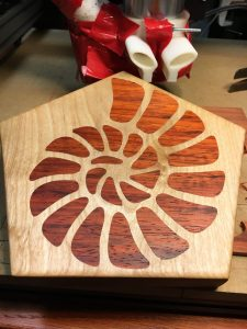 Nautilus Inlay Cutting Board