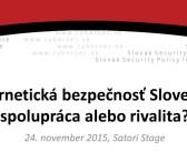 Kybernetická bezpečnosť Slovenska: spolupráca alebo rivalita?
