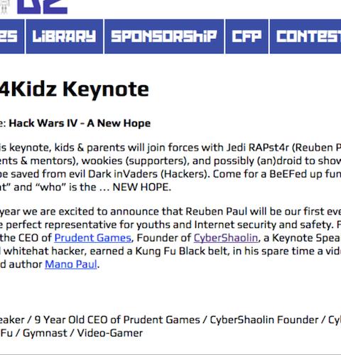 Hack Wars Episode IV : A New Hope – Hak4Kidz (2015)