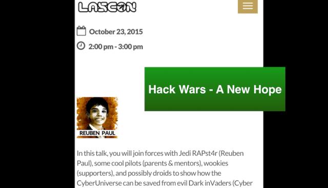 Hack Wars : A New Hope – LASCON (2015)
