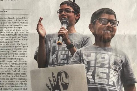 Cyber Gen Z and Beyond – Ask Straits Times (2017)