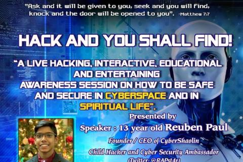 Hack and Ye shall Find – Indian Fellowship Memphis (2019)