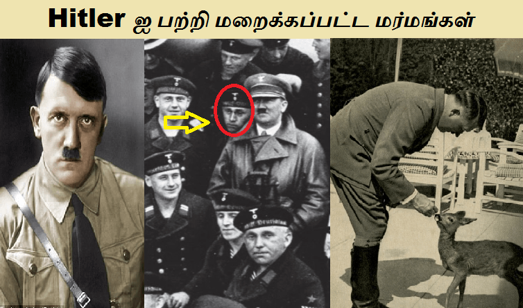 hitler hiden facts