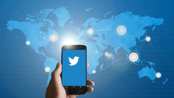 Twitter worldwide use.