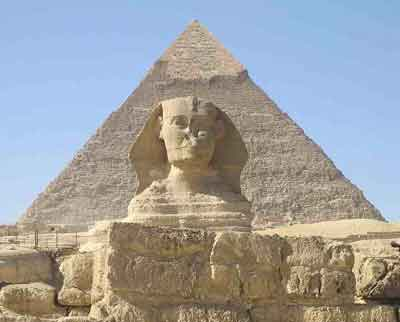 The Sphynx and Pyramids