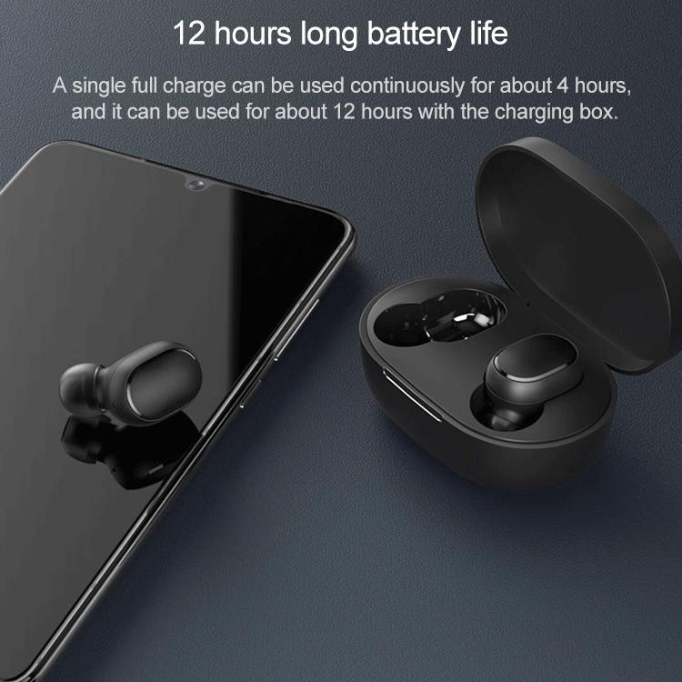 Wireless Headphones Xiaomi AirDots 2 TWS Black Earbuds
