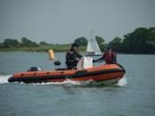 Safety boat training