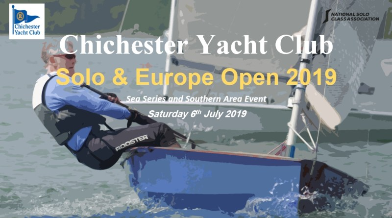 Chichester Yacht Club – Solo and Europe Open 2019