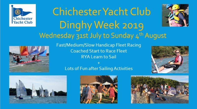 Dinghy Week 2019