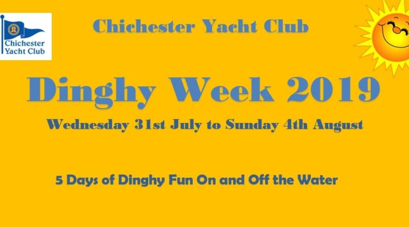 Dinghy Week 2019