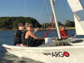 corporate dinghy sailing P6