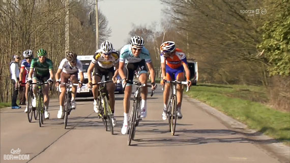 Cycleboredom | Screencap Recap: Dwars Door Vlaanderen & E3 Prijs Vlaanderen - Harelbeke - Niki Breaking