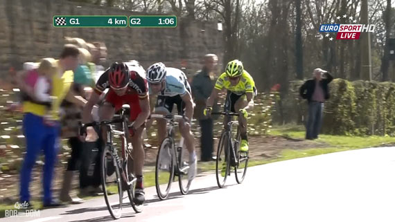 Cycleboredom | Screencap Recap: Ronde van Vlaanderen - Giraffe Attack