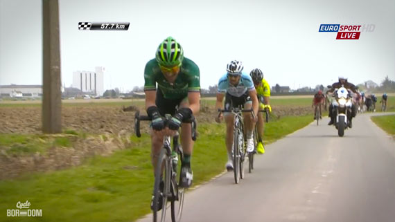 Cycleboredom | Screencap Recap: Paris-Roubaix - Turgot Caught
