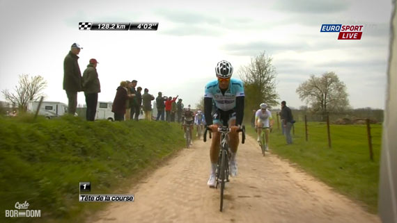 Cycleboredom | Screencap Recap: Paris-Roubaix - Height Doping