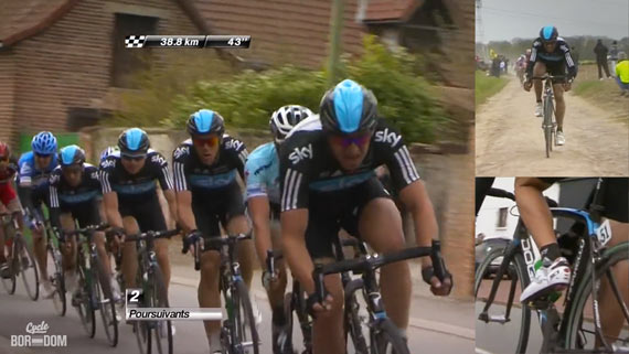 Cycleboredom | Screencap Recap: Paris-Roubaix - SKY Train