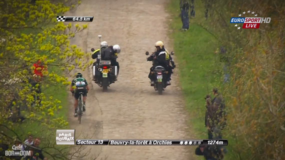 Cycleboredom | Screencap Recap: Paris-Roubaix - Turgot Attacks
