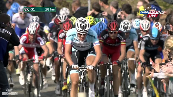 Cycleboredom | Screencap Recap: Ronde van Vlaanderen - The Oude Kwaremont