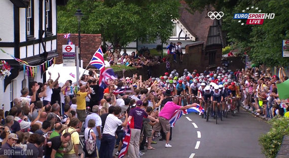 Cycleboredom | Screencap Recap: Men's Olympic Road Race - Beautifully British