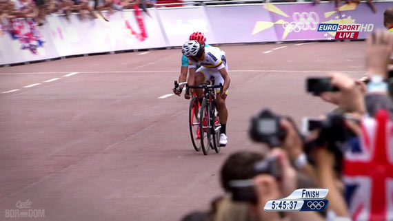 Cycleboredom | Screencap Recap: Men's Olympic Road Race - Rigaberto Looks Once