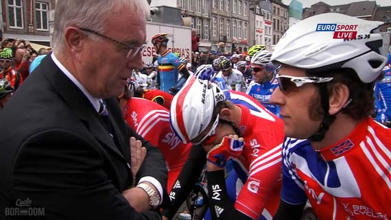 Cycleboredom | Screencap Recap: #Limburg2012 - Wiggo & Der Overlord