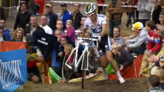 Cycleboredom | Screencap Recap: 2012 Cyclocross Bosduin Kalmthout - On The Very Limit