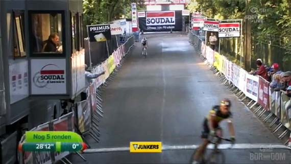 Cycleboredom | Screencap Recap: GP Neerpelt - Nog 5 Ronden