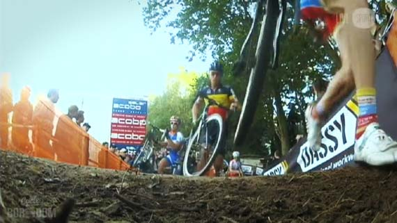Cycleboredom | Screencap Recap: 2012 Cyclocross Bosduin Kalmthout - Runupskirt