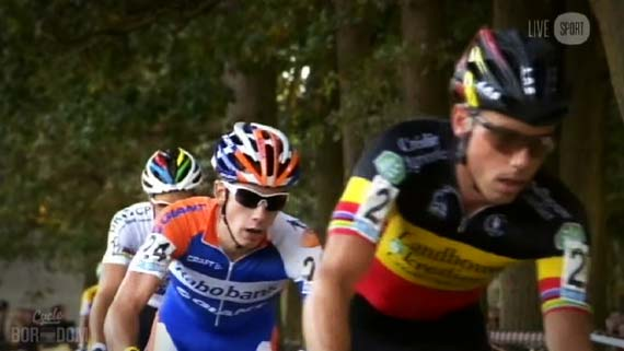 Cycleboredom | Screencap Recap: 2012 Cyclocross Bosduin Kalmthout - Lars van der Haar