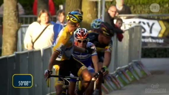 Cycleboredom | Screencap Recap: 2012 Cyclocross Bosduin Kalmthout - Wellens Gets Involved