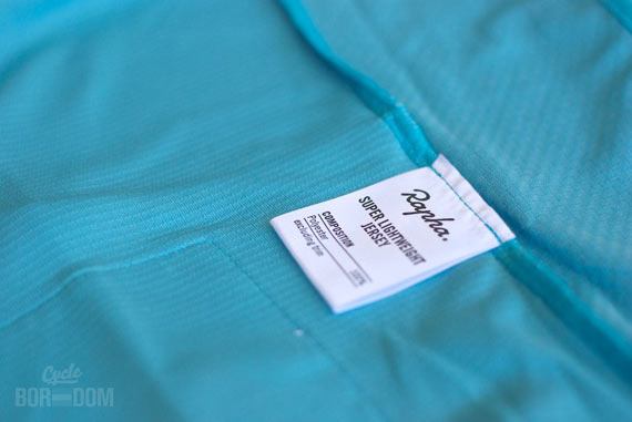 What I'm Riding: Rapha Super Lightweight Jersey | Cycleboredom