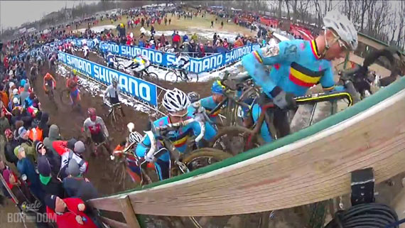 Screencap Recap: 2013 UCI Cyclocross World Championships - Into The Rail