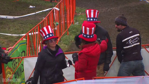 Screencap Recap: 2013 UCI Cyclocross World Championships - Impromptu Controle Dopage